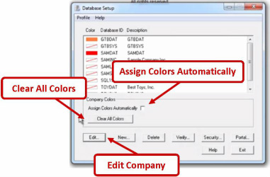 Changing Your Company's Colors in Sage 300 ERP