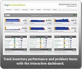 Sage Inventory Advisor Dashboard Report