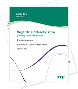 4 Reasons to Upgrade to Sage 100 Contractor Version 2014