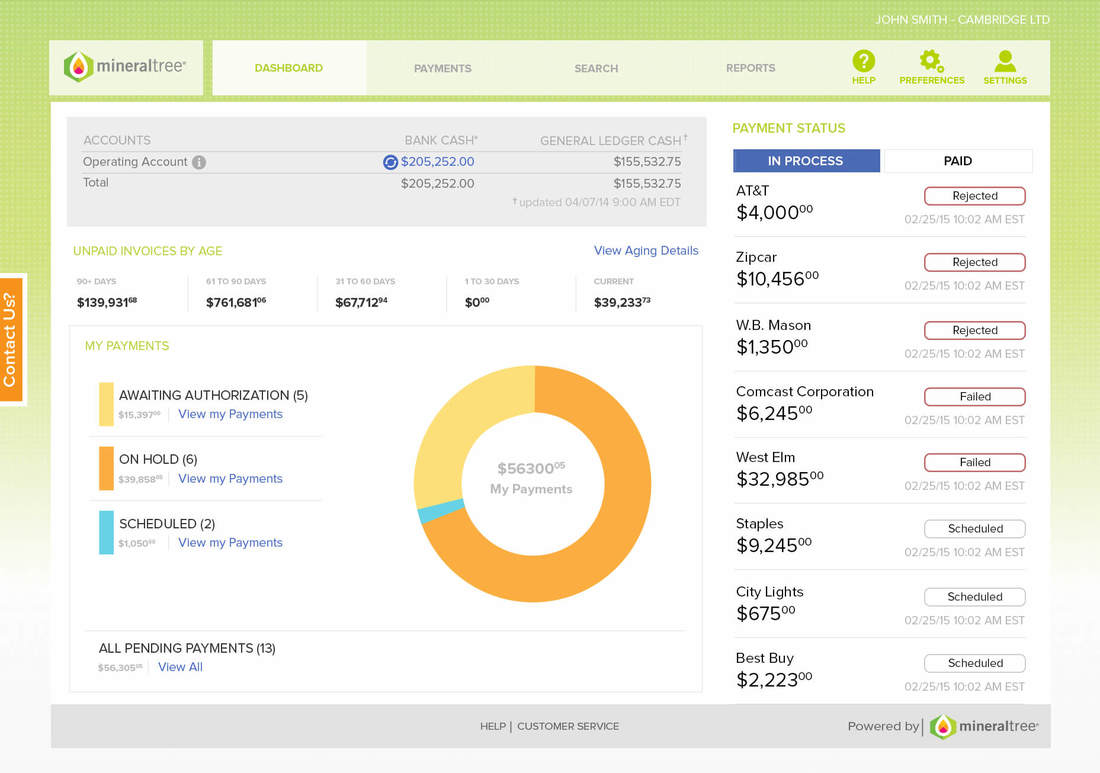 Sage AP Automation Approver Dashboard