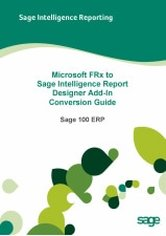 FRx Conversion for Sage 100 Guide