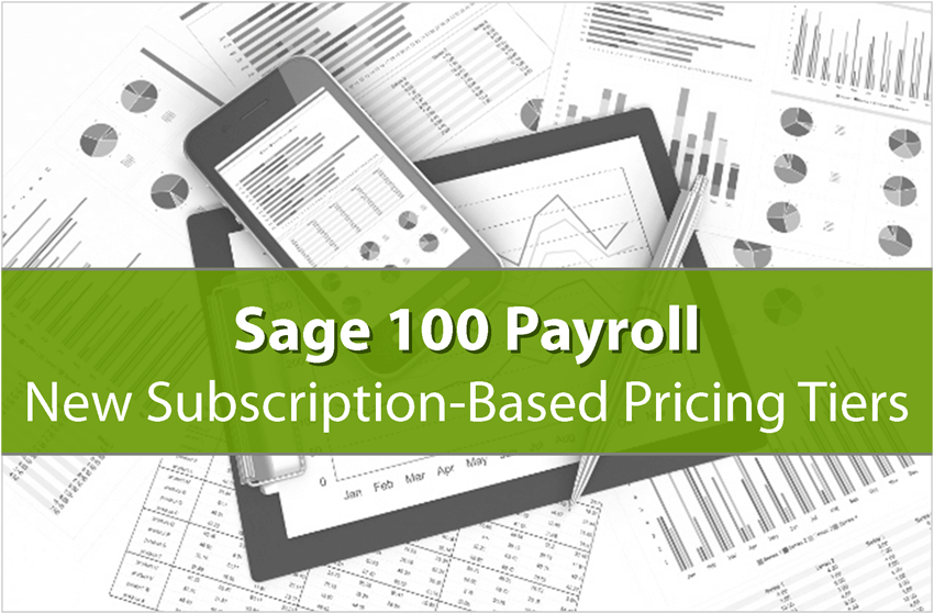 Sage 100 Payroll Price Change