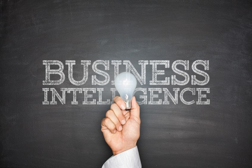 Business Intelligence Blackboard image