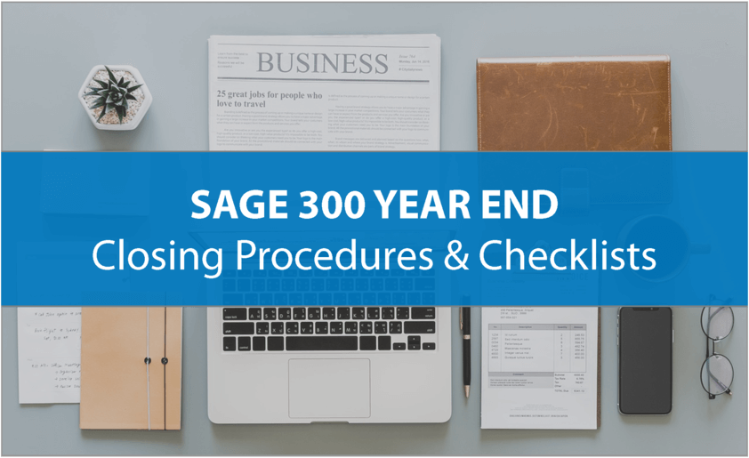 Sage 300 Year End Processing